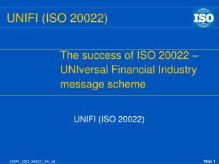 UNIFI (ISO 20022)