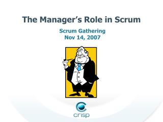 The Manager's Role in Scrum