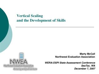Vertical Scaling  and the Development of Skills