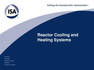 Reactor Cooling and Heating Systems