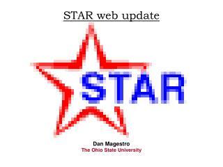 STAR web update