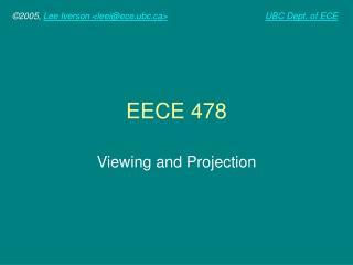 EECE 478