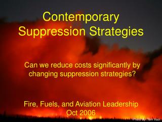 Fire, Fuels, and Aviation Leadership Oct 2006
