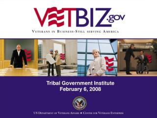 Tribal Government Institute February 6, 2008