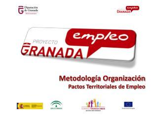 Metodología Organización Pactos Territoriales de Empleo