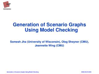 Generation of Scenario Graphs Using Model Checking