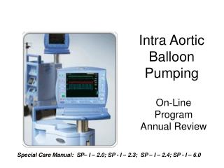 Intra Aortic  Balloon Pumping