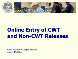 Online Entry of CWT and Non-CWT Releases