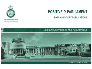 POSITIVELY PARLIAMENT