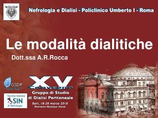 Nefrologia e Dialisi - Policlinico Umberto I - Roma