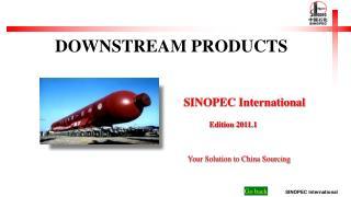 SINOPEC International Edition 2011.1