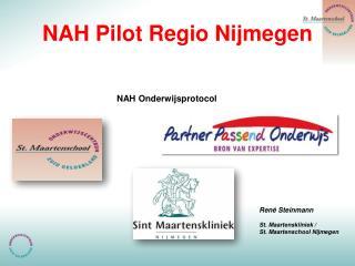 NAH Pilot Regio Nijmegen