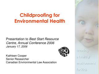 Childproofing for Environmental Health