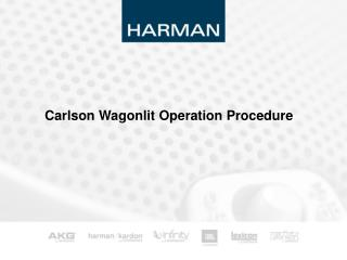 Carlson Wagonlit Operation Procedure