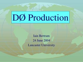D� MC Production
