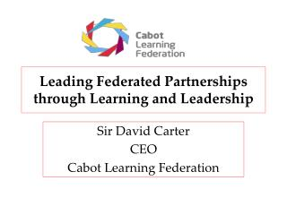 Leading Federated Partnerships through Learning and Leadership