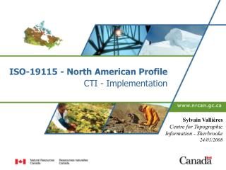 ISO-19115 - North American Profile CTI - Implementation