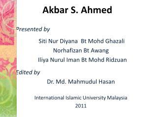 Akbar S. Ahmed