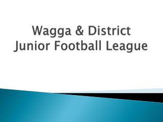 Wagga & District Junior Football League