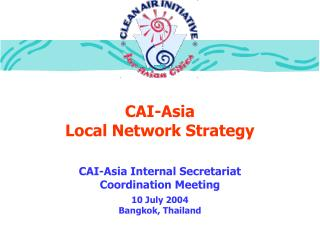 CAI-Asia Local Network Strategy