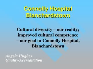 Connolly Hospital Blanchardstown
