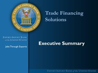 Trade Financing Solutions