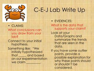 C-E-J Lab Write Up