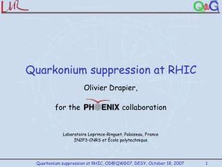 Quarkonium suppression at RHIC