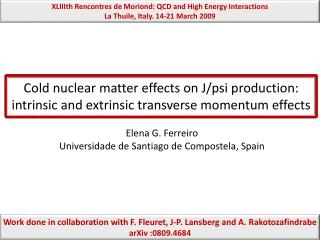 Cold nuclear matter effects on J/psi production: