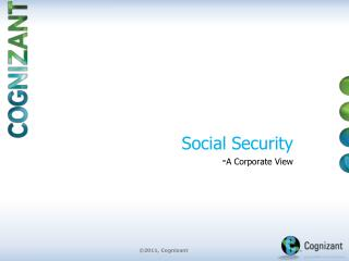 Social Security  - A Corporate View