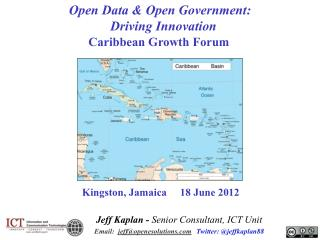 Open Data & Open Government:   Driving Innovation