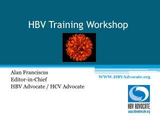 HBV Training Workshop
