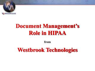 Westbrook Technologies