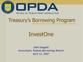 Treasury's Borrowing Program