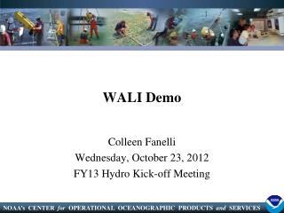 WALI Demo