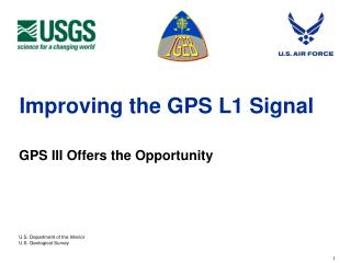 Improving the GPS L1 Signal