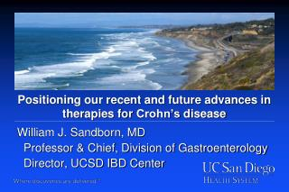 Positioning our recent and future advances in therapies for  Crohn's  disease