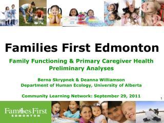 Families First Edmonton