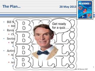 The Plan�	 				28 May 2013