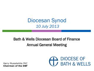 Diocesan Synod  10 July 2013