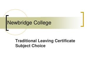 Newbridge College