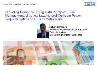 Building a smarter planet: Financial Services