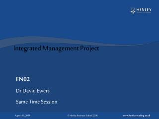 Integrated Management Project
