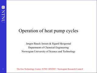 Operation of heat pump cycles