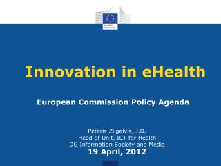 Innovation in eHealth