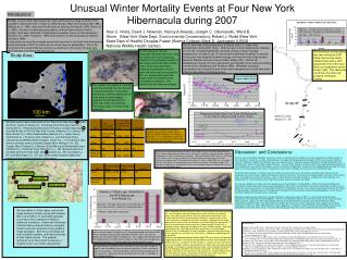 Unusual Winter Mortality Events at Four New York Hibernacula during 2007