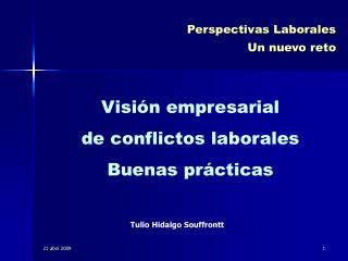 Perspectivas Laborales Un nuevo reto