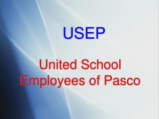 United School Employees of Pasco