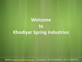 Leaf Springs | Leaf Springs Manufacturer