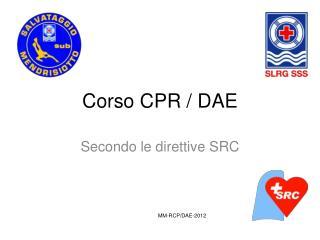 Corso CPR / DAE